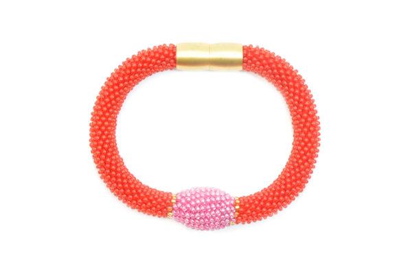 Trinity Oliv Armband